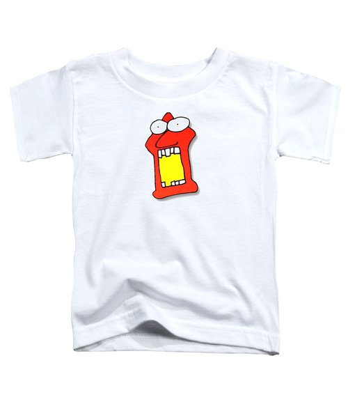 Fu Party People - Peep 104 Toddler T-Shirt by Dar Freeland