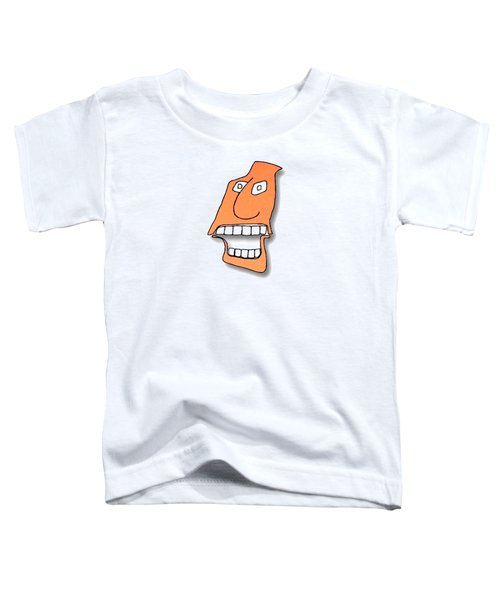 Fu Party People - Peep 127 Toddler T-Shirt by Dar Freeland