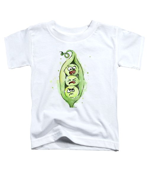 Funny Peas In A Pod Toddler T-Shirt