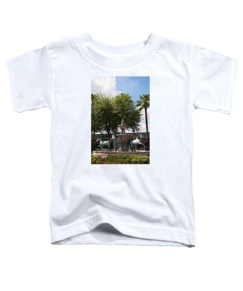 Galloping Water Horses Toddler T-Shirt