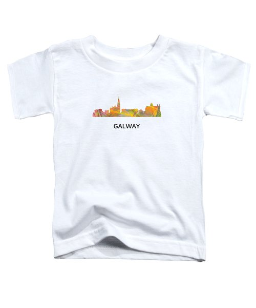 Galway Ireland Skyline Toddler T-Shirt