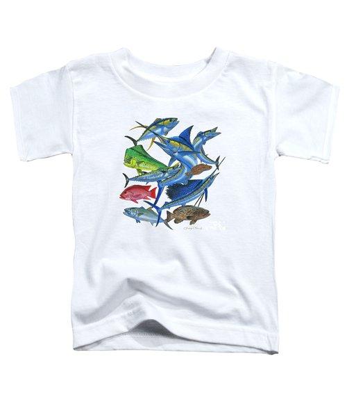 Gamefish Collage Toddler T-Shirt