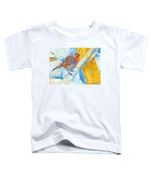 Garden Robin Toddler T-Shirt