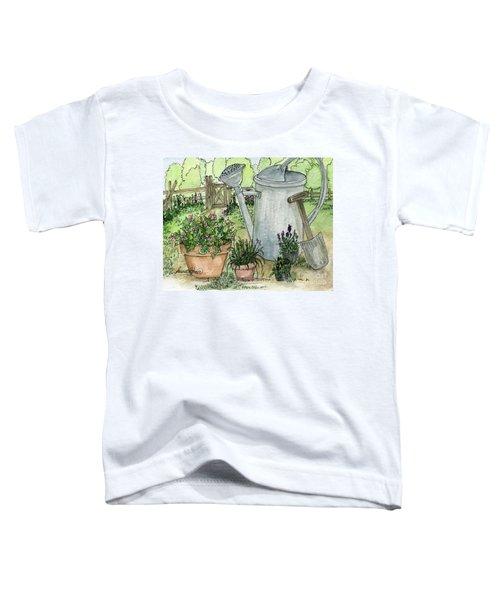 Garden Tools Toddler T-Shirt