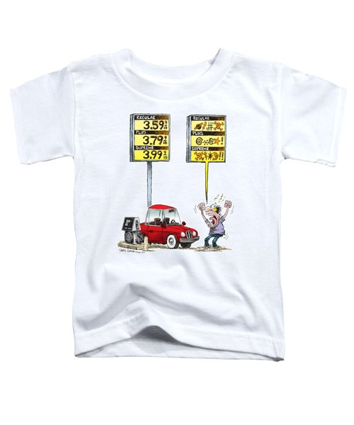 Gas Price Curse Toddler T-Shirt