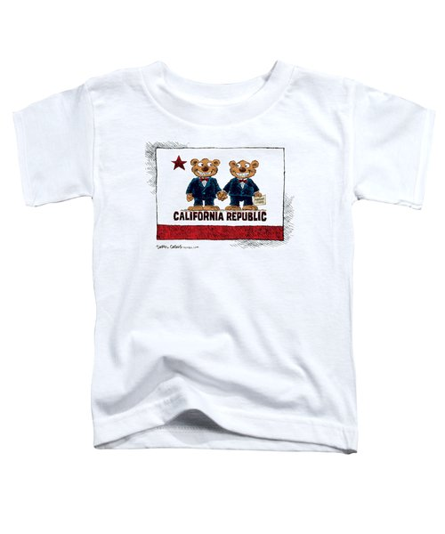 Gay Marriage In California Toddler T-Shirt