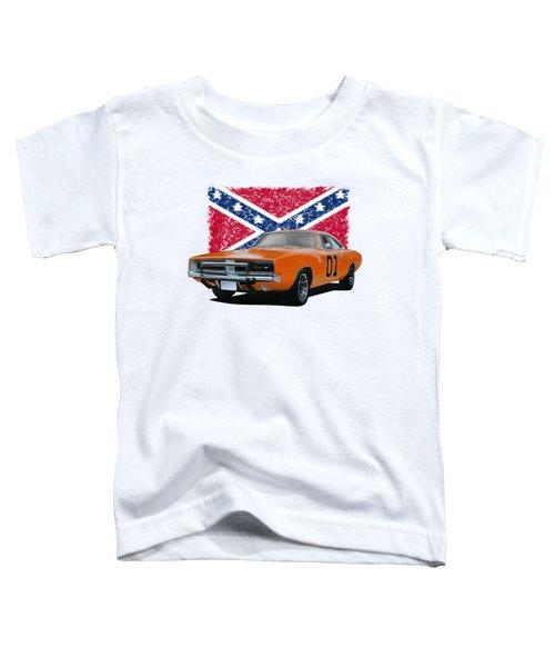 General Lee Rebel Toddler T-Shirt