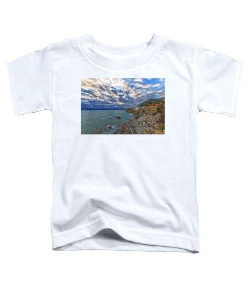 Genova Nervi Ex Ristorante Marinella  Luoghi Abbandonati Abandoned Places Toddler T-Shirt
