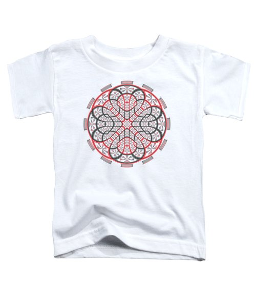 Geometric Mandala Toddler T-Shirt