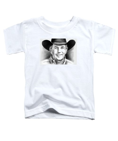 George Strait Toddler T-Shirt