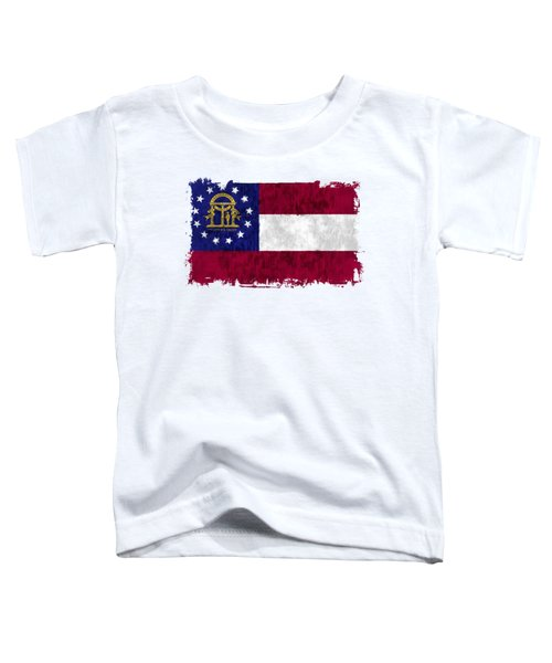 Georgia Flag Toddler T-Shirt