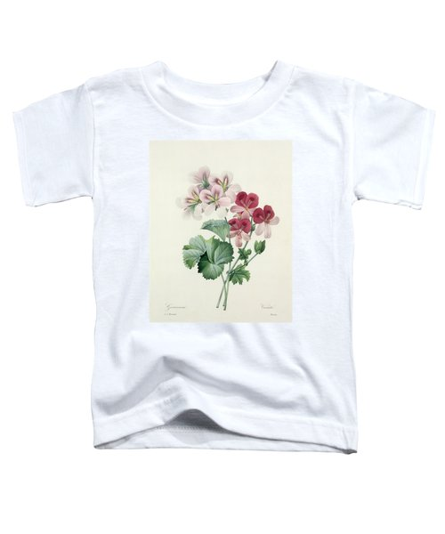 Geranium Variety Toddler T-Shirt