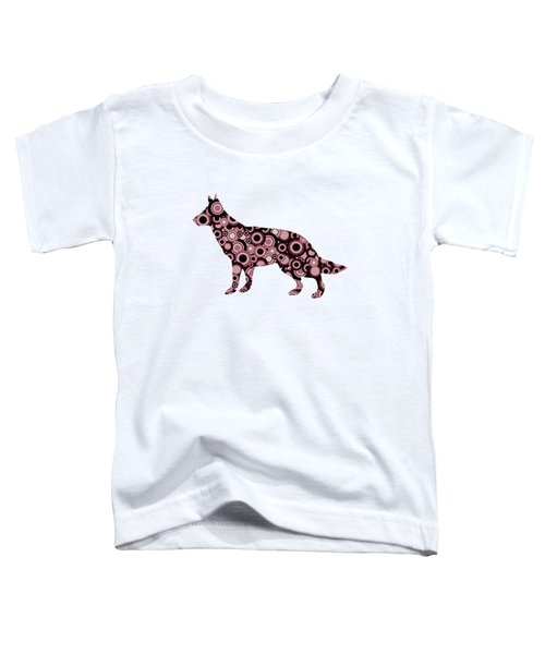German Shepherd - Animal Art Toddler T-Shirt