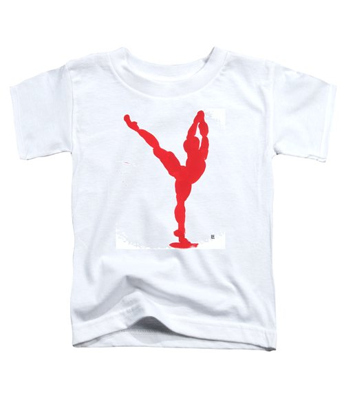 Gesture Brush Red 1 Toddler T-Shirt