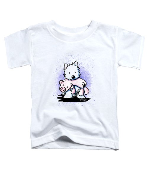 Gettin' Piggy With It Toddler T-Shirt
