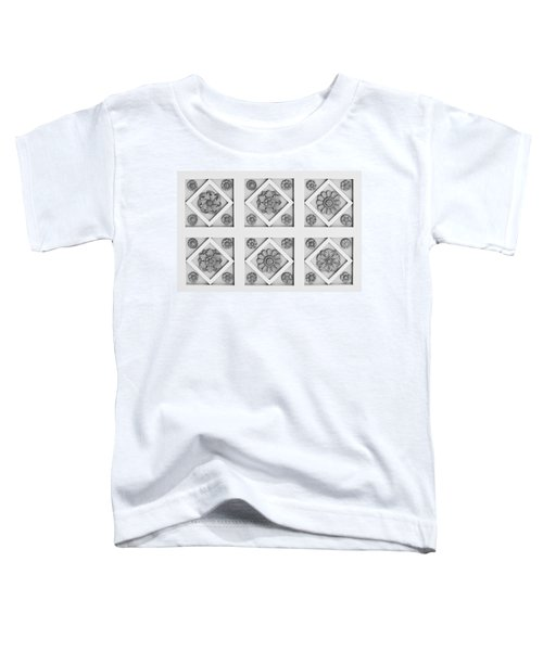 Getty Villa Coffered Peristyle Ceiling Toddler T-Shirt