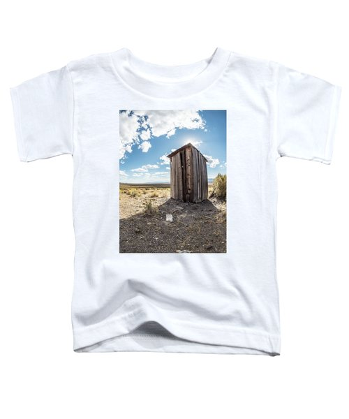 Ghost Town Outhouse Toddler T-Shirt