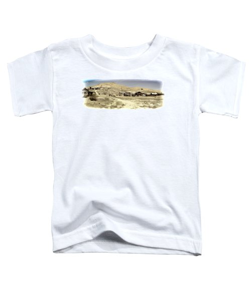 Ghost Town Textured Toddler T-Shirt