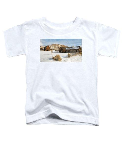 Ghost Town Winter Toddler T-Shirt