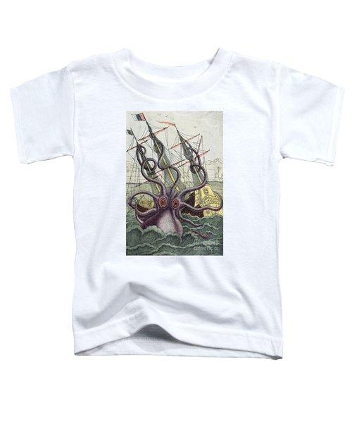 Giant Octopus Toddler T-Shirt