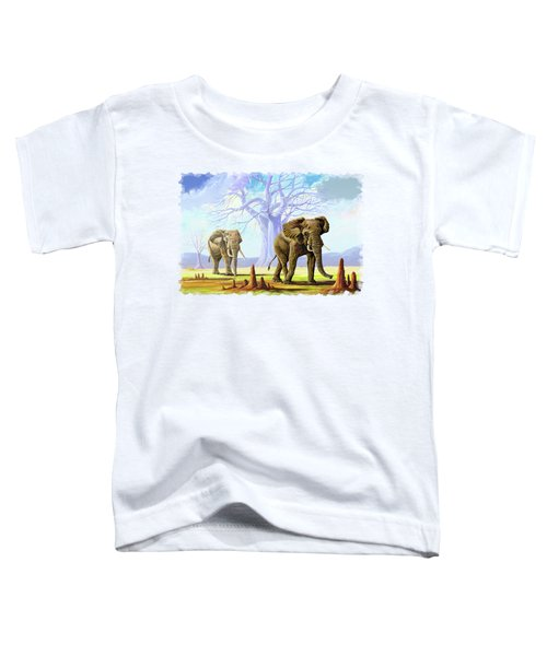 Giants And Little People Toddler T-Shirt