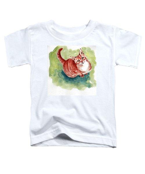 Ginger Tabby 8 Toddler T-Shirt