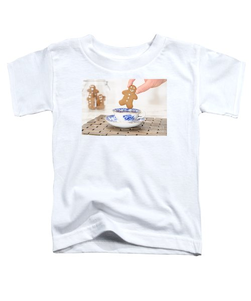 Gingerbread In Teacup Toddler T-Shirt