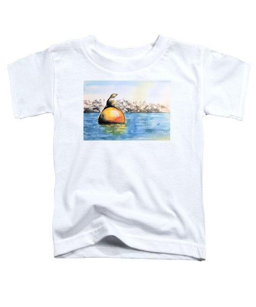 Girl And Buoy Toddler T-Shirt