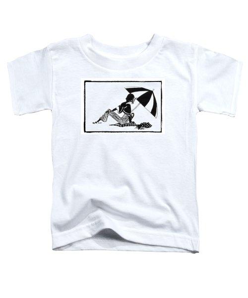 Girl On The Beach Toddler T-Shirt