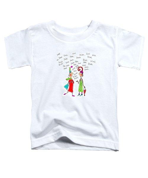 Girl Talk Toddler T-Shirt