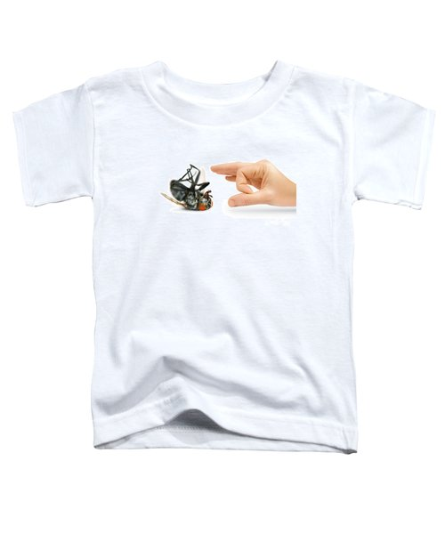 Give Pests The Flick Toddler T-Shirt