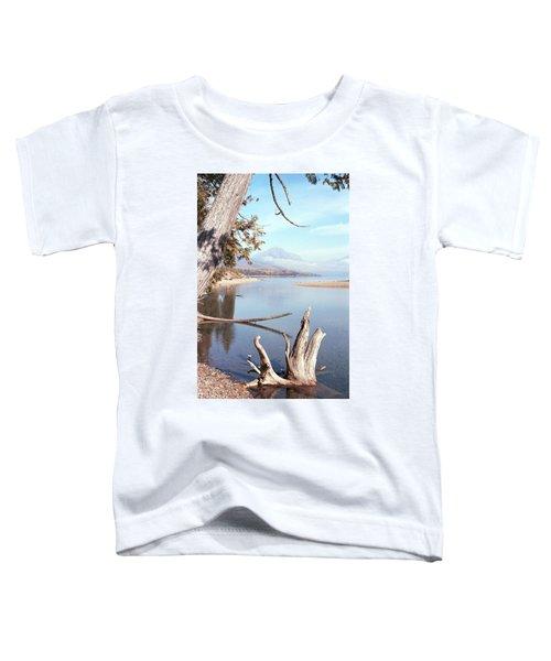 Glacier National Park 3 Toddler T-Shirt