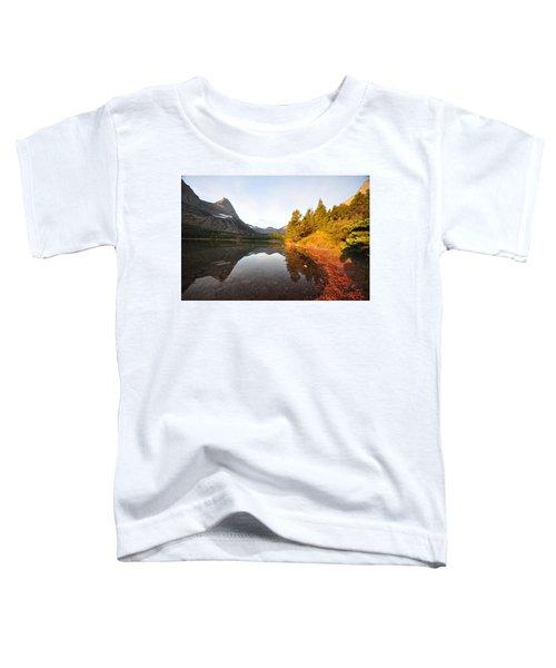 Glacier National Park Toddler T-Shirt