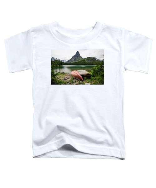 Glacier National Park Toddler T-Shirt