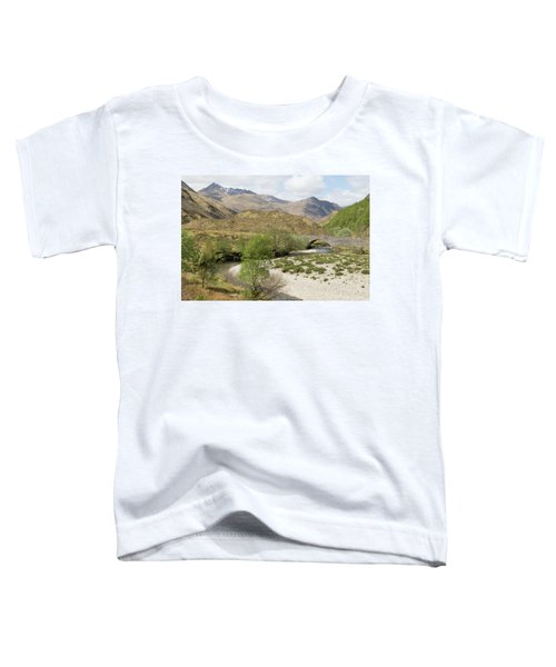 Glen Shiel - Scotland Toddler T-Shirt
