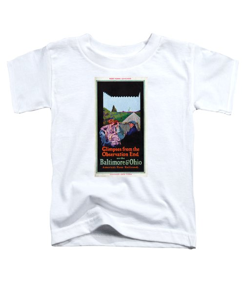 Glimpses From The Observation End Toddler T-Shirt