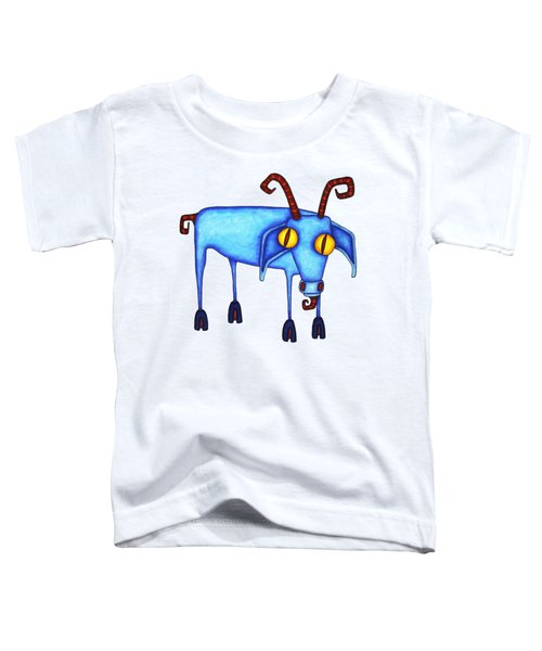 Goat Toddler T-Shirt by Joan Krygsman
