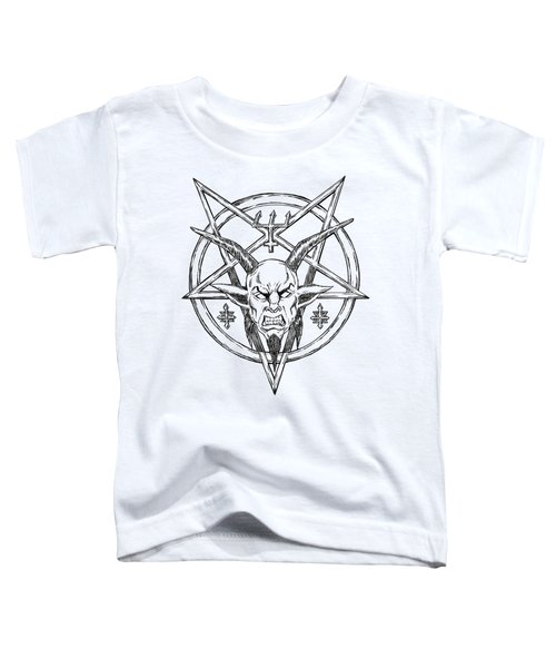 Goatlord Logo Toddler T-Shirt by Alaric Barca