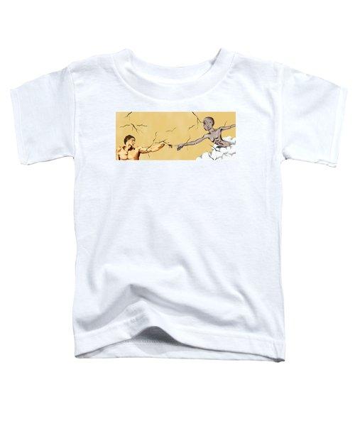 God And Man Toddler T-Shirt