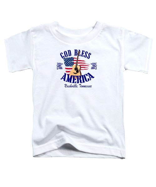 God Bless America Toddler T-Shirt