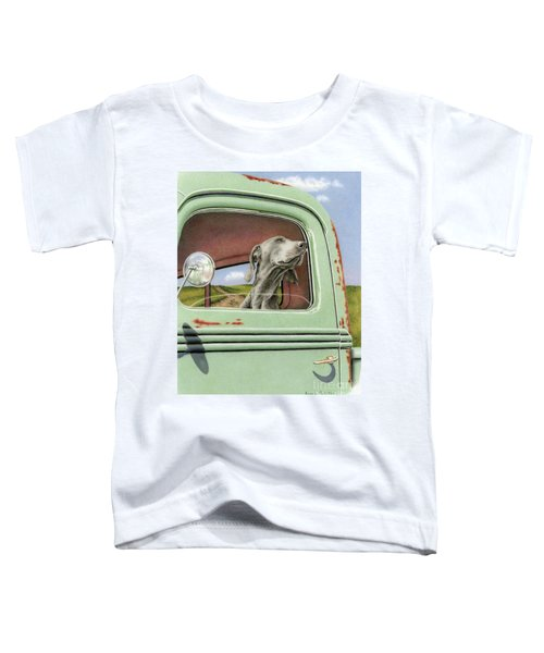 Goin' For A Ride Toddler T-Shirt