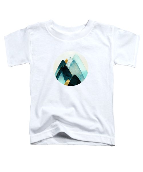 Gold And Blue Hills Toddler T-Shirt