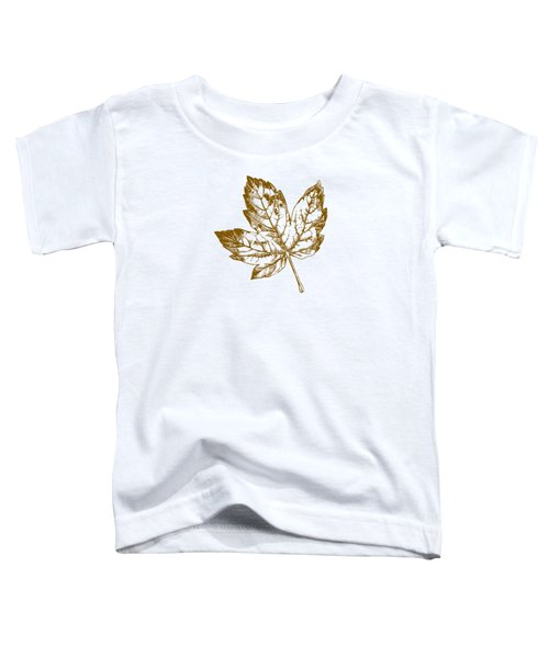 Gold Leaf Toddler T-Shirt