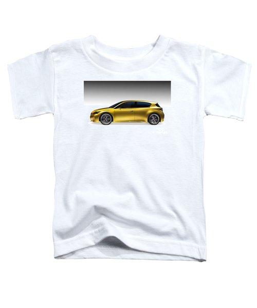Gold Lexus Lf-ch Hybrid Car Toddler T-Shirt