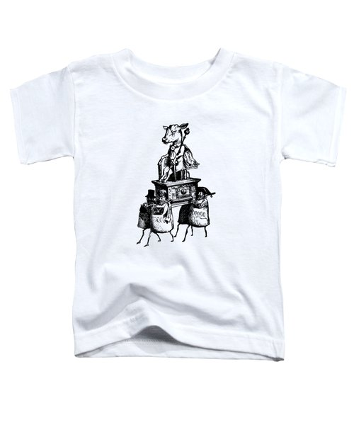 Golden Calf Grandville Transparent Toddler T-Shirt