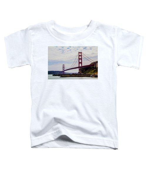 Golden Gate Bridge Toddler T-Shirt
