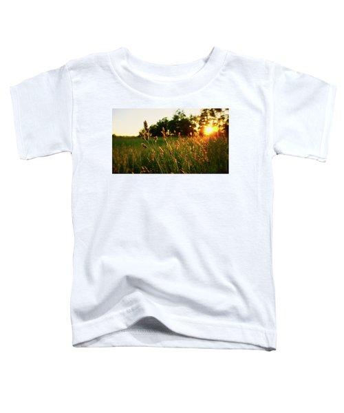 Golden Glow Toddler T-Shirt