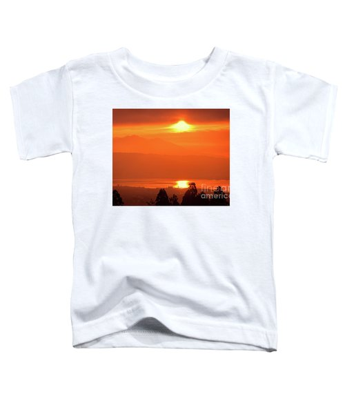 Golden Hour Toddler T-Shirt