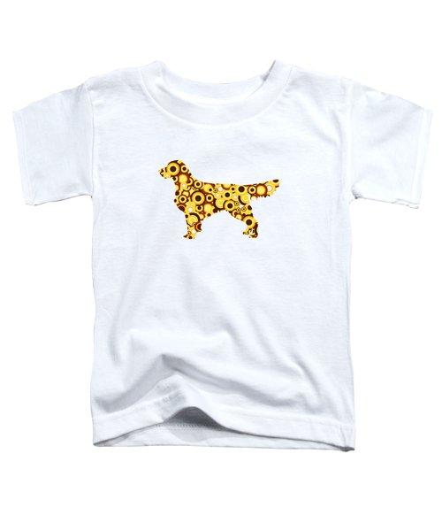 Golden Retriever - Animal Art Toddler T-Shirt