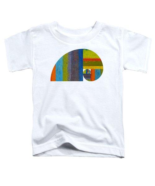 Golden Spiral Study Toddler T-Shirt by Michelle Calkins